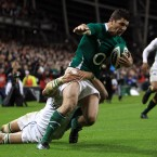 The Ireland full back was 7-2 to score at anytime during the course of the clash with the Springboks on Saturday at the Aviva Stadium last Saturday.