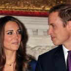 Prince William and Kate Middleton, during a photocall in the State Apartments of St James's Palace, London to mark their engagement.