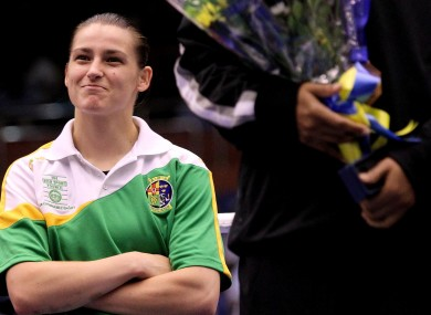 Multiple world champion Katie Taylor will feature in a review of the year on RT television.