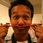 Missing your pencil moustache? You can still have one. Made of a REAL pencil, see.