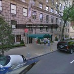 Murdoch's city crash pad on the exclusive Fifth Avenue. Photo courtesy of Google Streetview.