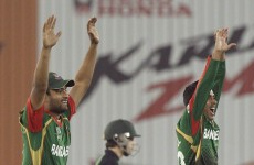 Cricket World Cup: Ireland v Bangladesh as it happened