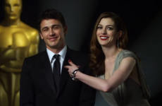 Oscars hostess Anne Hathaway: possibly very unfunny