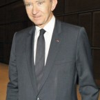 French luxury goods group LVMH chairman Bernard Arnault. 