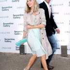 John T Dorrance, Campell's soup heir, with Donna Air at the Serpentine Gallery Summer Party, London.