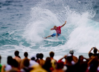 Kelly Slater secures his 46th elite tour win defeating defending event champion Taj Burrow from Australia to claim the Quiksilver Pro Gold Coast.