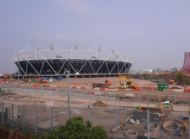 Olympic Stadium in Stratford, London