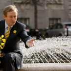 Taoiseach Enda Kenny launches the annual Daffodil Day in aid of the Irish Cancer Society. There is no truth in the rumour that he brought a bunch of daffs for every EU leader at the summit this week.