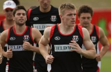 Watch: St. Kilda's turbulent pre-season captured on camera