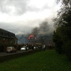The scene at Cremorne, off the Terenure Road East, shortly after 4pm. (Thanks to @karlypants on Twitter for the photo.)