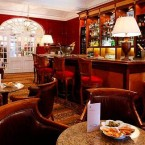 The Goring's lobby bar, stocked with plenty of Dutch courage for cold feet.