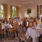 The Goring's dining room -- perfect for dispelling pesky weight-loss chatter.