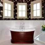 The Goring's bathrooms feature standalone tubs.