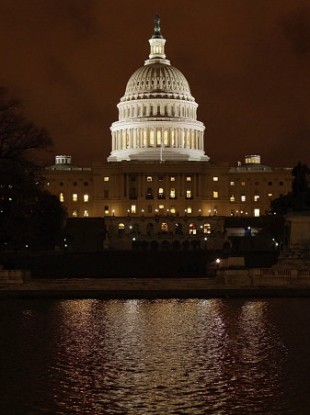 The US Capitol in Washington DC.