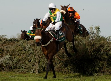 Ballabriggs on his way to victory at Aintree today