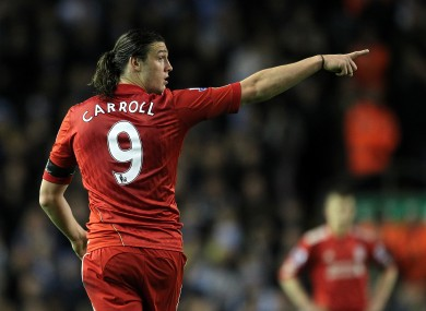 Andy Carroll: Liverpool only play once but striker has been in good form.