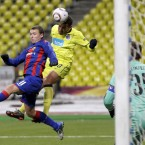 Next up for Andre Villas Boas' men were CSKA Moscow in the tournament's last 16.