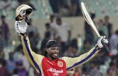 WATCH: Chris Gayle scores 36 runs – in a single over