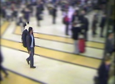 CCTV footage showing Hasib Hussain at King's Cross on July 7, 2005. An inquest has ruled that no organisation's failings contributed to the death of 52 people.