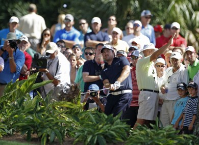 Graeme McDowell at Sawgrass this weekend.