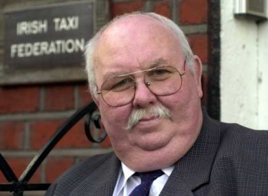 John Ussher of the Irish Taxi Federation