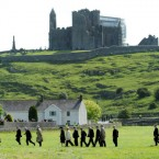 At the Rock of Cashel today. (Pic:Maxwells)