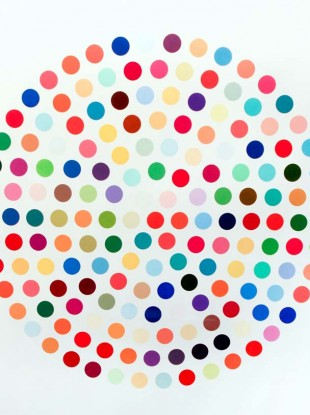 Damien Hirst's Cephalothin has a 6,000-8,000 guide price on it for this evening's art auction in Cork