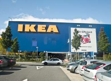 IKEA'S store in Dublin