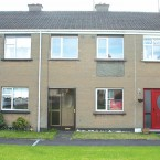 A three-bedroom mid-terrace house in Kells, Co Meath for sale at Allsops/Space distressed property auction on 7 July..