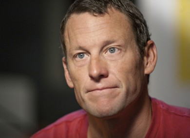Lance Armstrong: denies any wrongdoing.