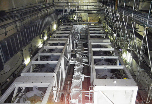 Water treatment system at Fukushima Daiichi plant