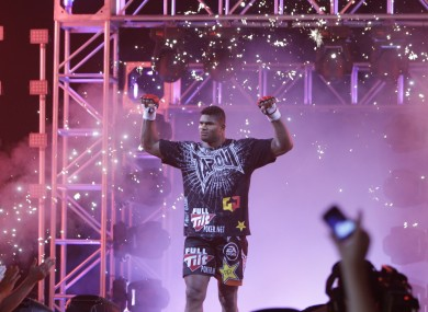 Alistair Overeem will be appearing at Strikeforce this weekend.