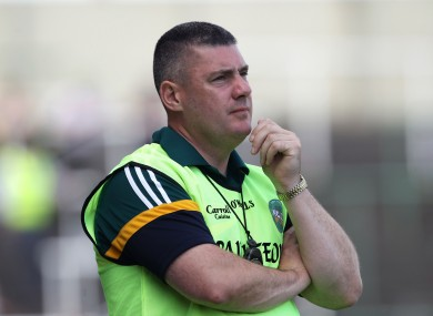 Offaly coach Tom Cribbin has been accused of having his 