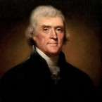 Only two of the 56 men who signed the original Declaration of Independence actually became President: John Adams, who was the second president, and his immediate successor Thomas Jefferson (pictured). Both died on the Fourth of July - on exactly the same day in 1826, the 50th anniversary of the declaration. Adams' last words were