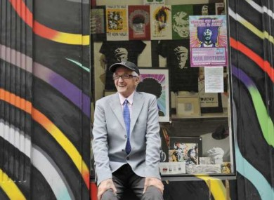 Brian O'Fionn, 70, main driver behind and financial supporter of the Icon Walk in Temple Bar, Dublin. Though suffering a terminal illness, O'Fionn was regularly seen painting, cleaning and installing art along the Walk.