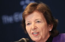 Mary Robinson in drought stricken Horn of Africa