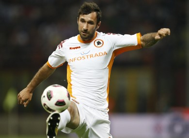 United are rumoured to be interested in Roma striker Vucinic.