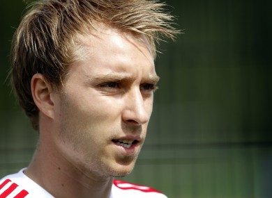 United have expressed an interest in Ajax midfielder Eriksen.