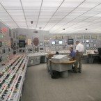 The control room of the Cooper nuclear power plant in Brownville, Nebraska (AP Photo/Josh Funk)
