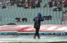 Rain forces cancellation of Ireland's tri-series opener