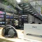A general view of an 'Apple Store' in Kunming, Yunnan Province, pictured last Thursday. Kunming has three unofficial 'Apple Stores' which not found in Apple's retail store locations list on Apple's official website. (ZPRESS/ChinaFotoPress)