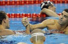 Lochte swims into the record books