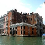 The palatial Hotel Palazzo Barbarigo, Venice - which you can only access by gondola via the grand canal. 