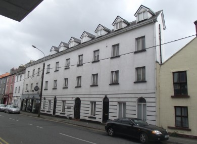 This unit in Galway, comprising of two 2-bed apartments, is up for sale with a maximum reserve price of €90,000.