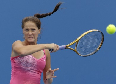 Jovanovski arrived at the correct venue just minutes prior to her match.