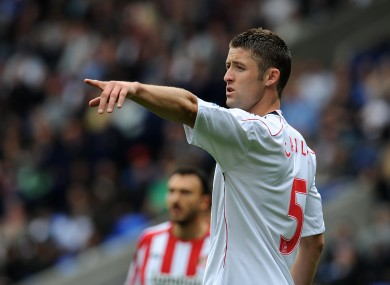 Gary Cahill: not going to Liverpool apparently.