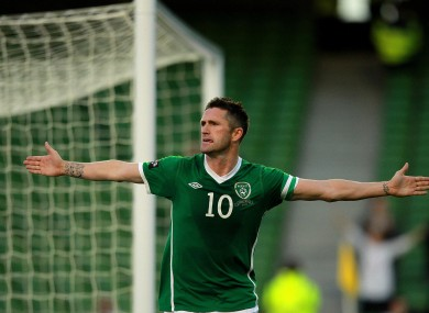 Keane has been in decent form for Ireland despite a lack of first-team opportunities at club level.
