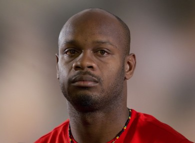 Despite the injury, Asafa Powell has not been ruled out of the 4 September relay final yet.