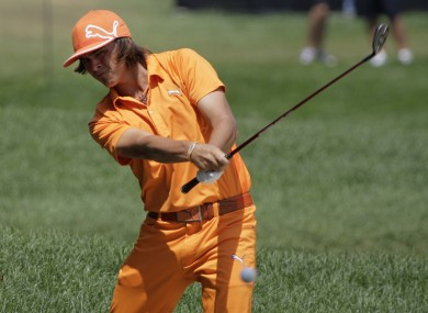 Rickie Fowler: this bro' can play.