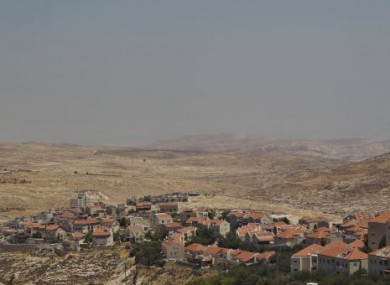 The east Jerusalem neighbourhood of Pisgat Zeev.